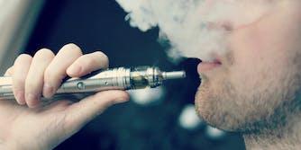 e-cigarette vaping safety study