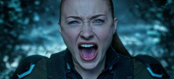 female superheroes - Jean Grey in x-men dark phoenix movie