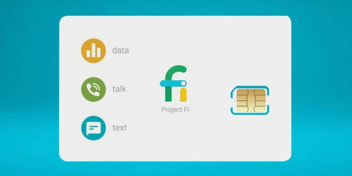 what is google project fi? Here's Google's sim card cellular network