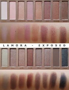 Lamora Exposed palette