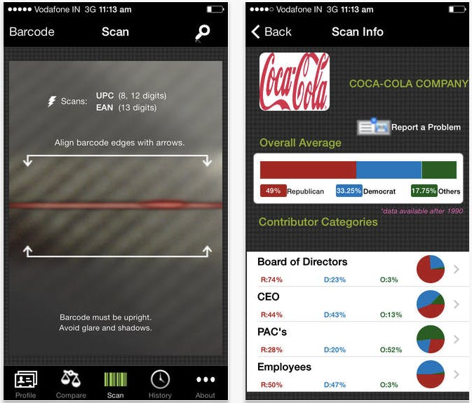 BuyPartisan app 1