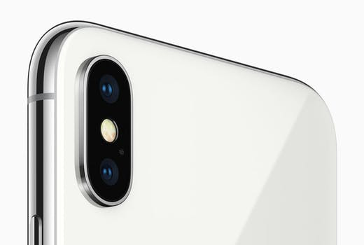 iPhone X Rear facing camera