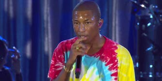 Pharrell at the Unity Concert for Charlottesville