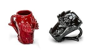 dragon head mugs