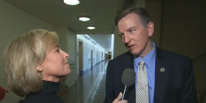 Arizona Rep. Paul Gosar got testy when CNN pushed him for an explanation about his wild claims about the white supremacist rally in Charlottesville