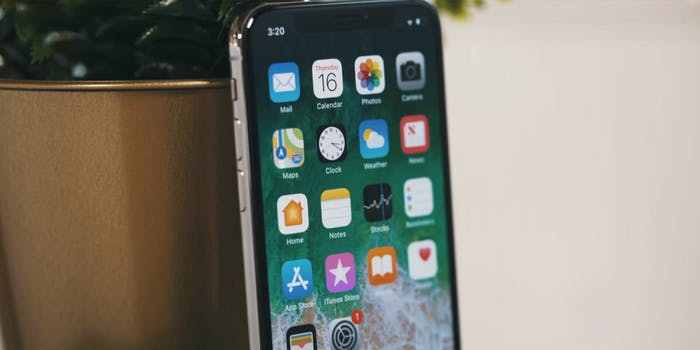apple iphone x smartphone ios 11