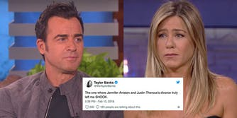 Jennifer Aniston and Justin Theroux are splitting up after two years of marriage.
