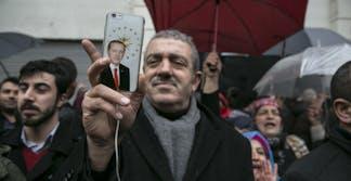 Turkish Man with Recep Tayyip Erdogan Phone Case