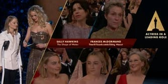 Oscars: The Best Actress Nominees Shared an Amazing Group Hug