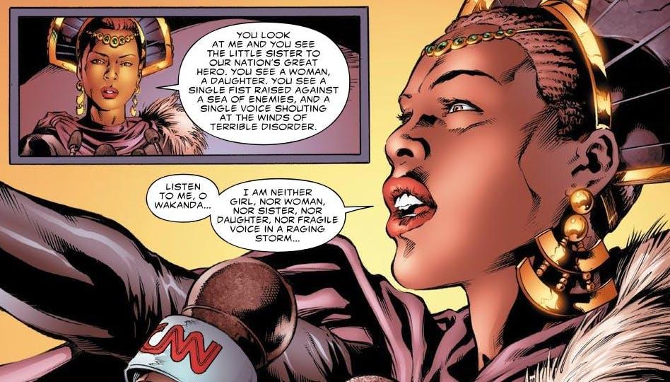 shuri black panther comic