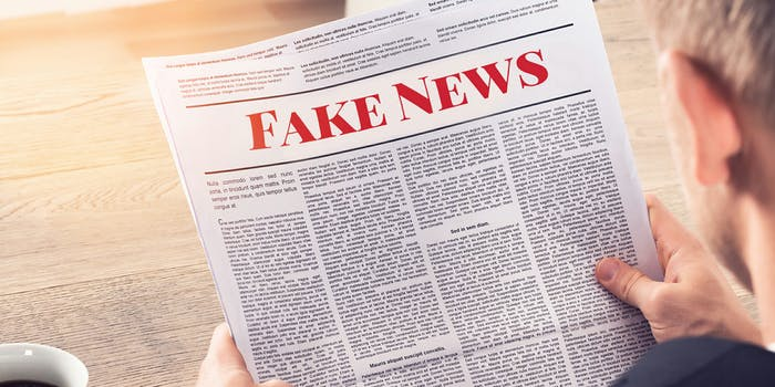 Almost half of Republicans think accurate, but negative, stories about leaders or groups should be called 'fake news,' according to a new survey.