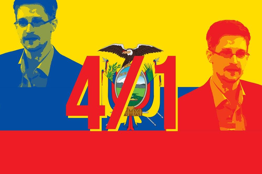 Edward Snowden: Ecuador