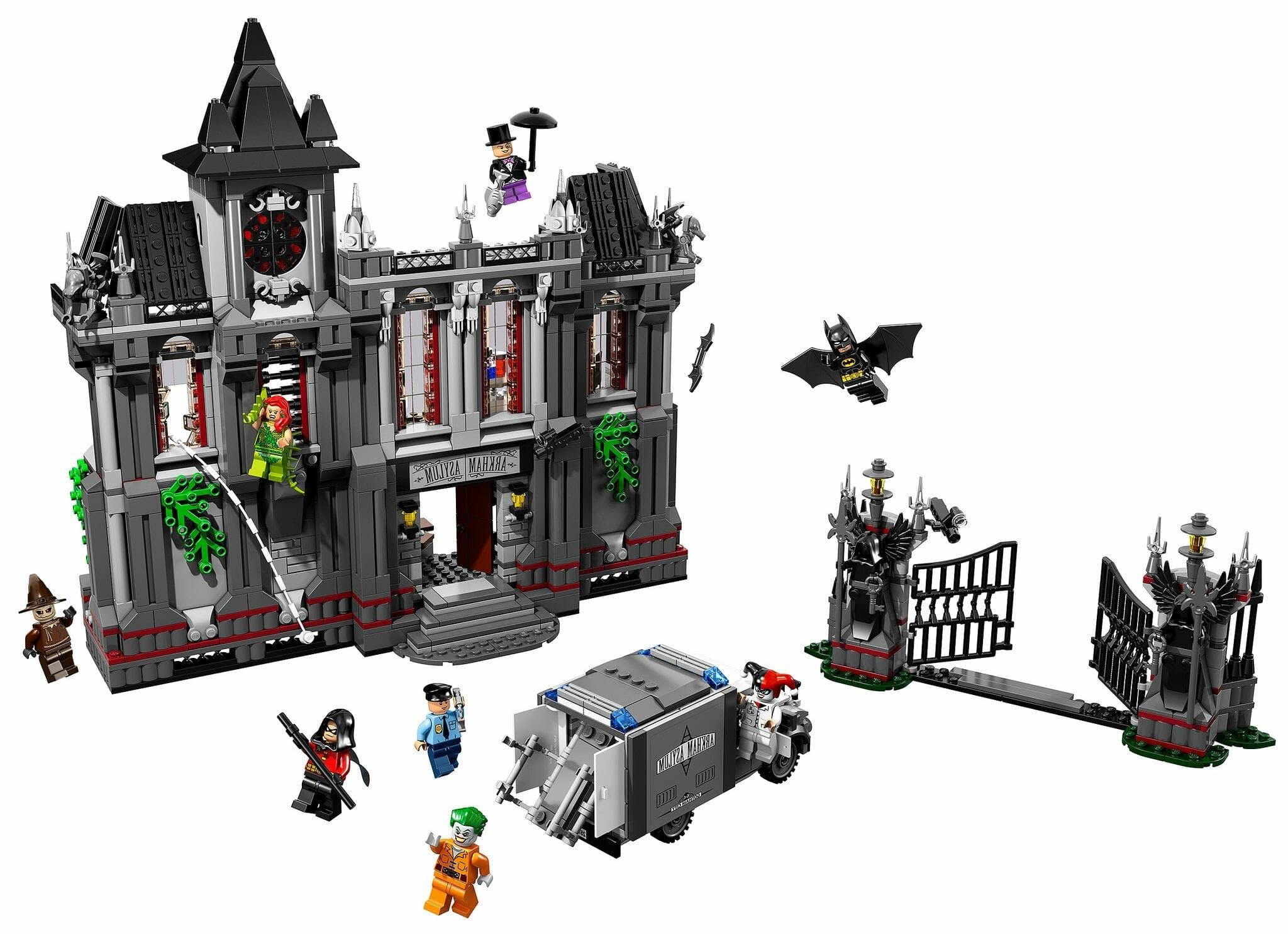 Arkham Asylum Breakout lego batman set