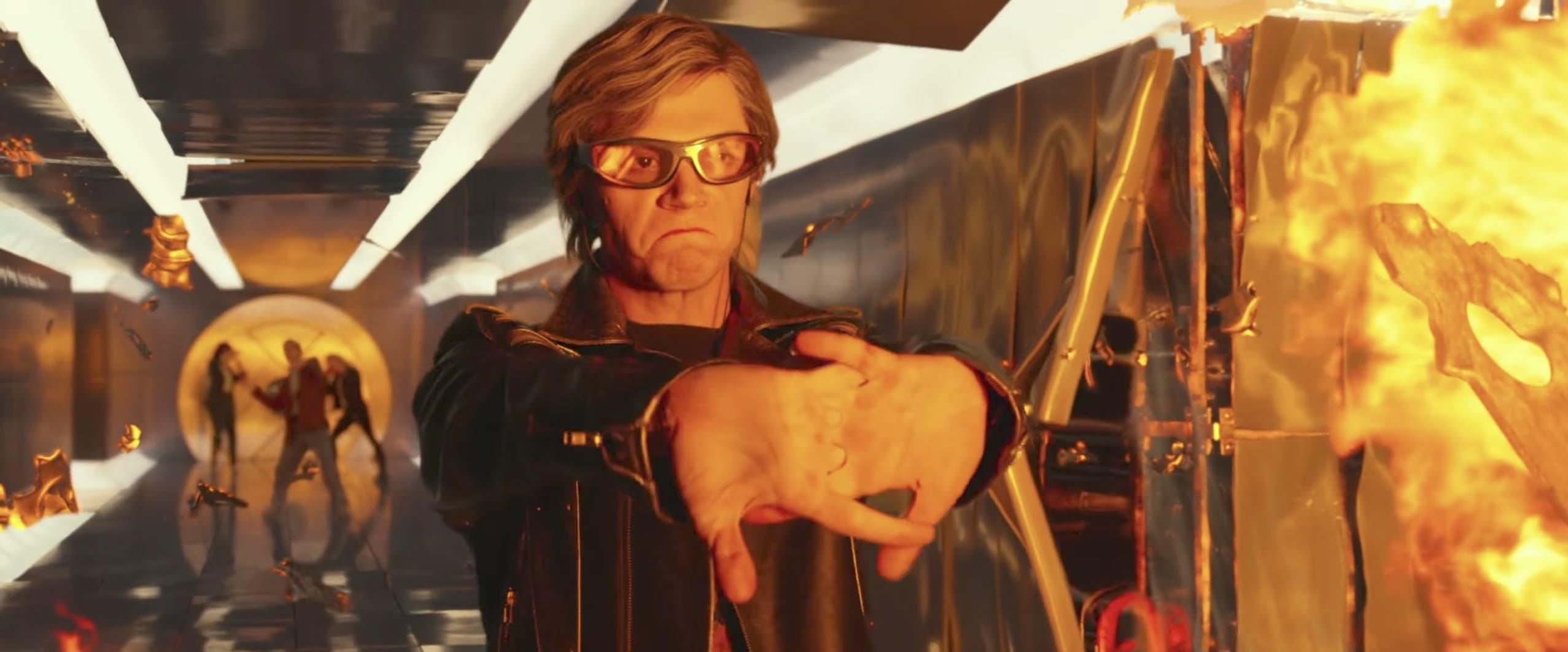 x-men movies in order : Quicksilver in 'X-Men: Apocalypse.'