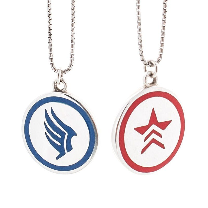 Morality Charm Necklace