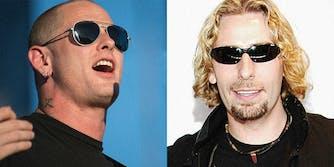Nickelback Slipknot: Corey Taylor and Chad Kroeger
