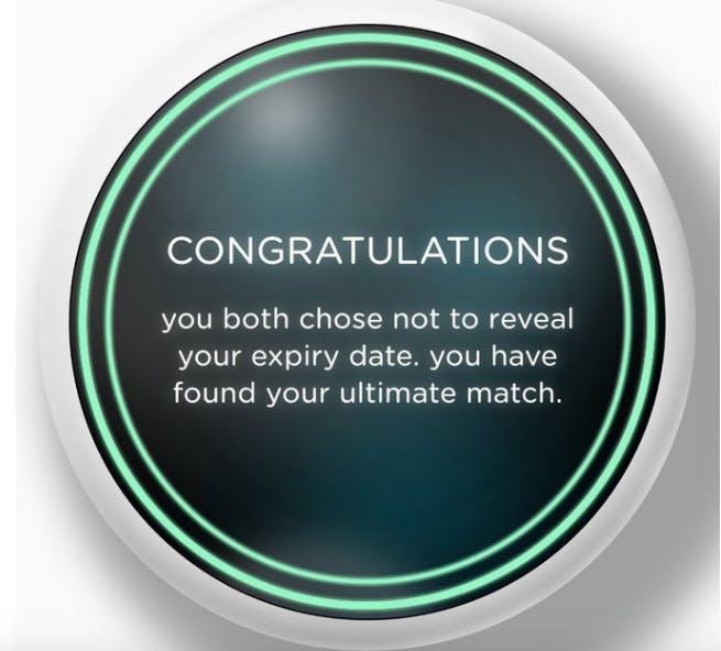 black mirror reveals dating site