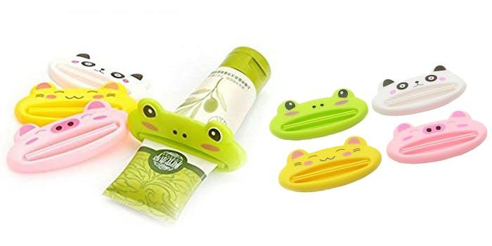 animal toothpaste squeezer