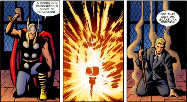 name of thor's hammer : mjölnir