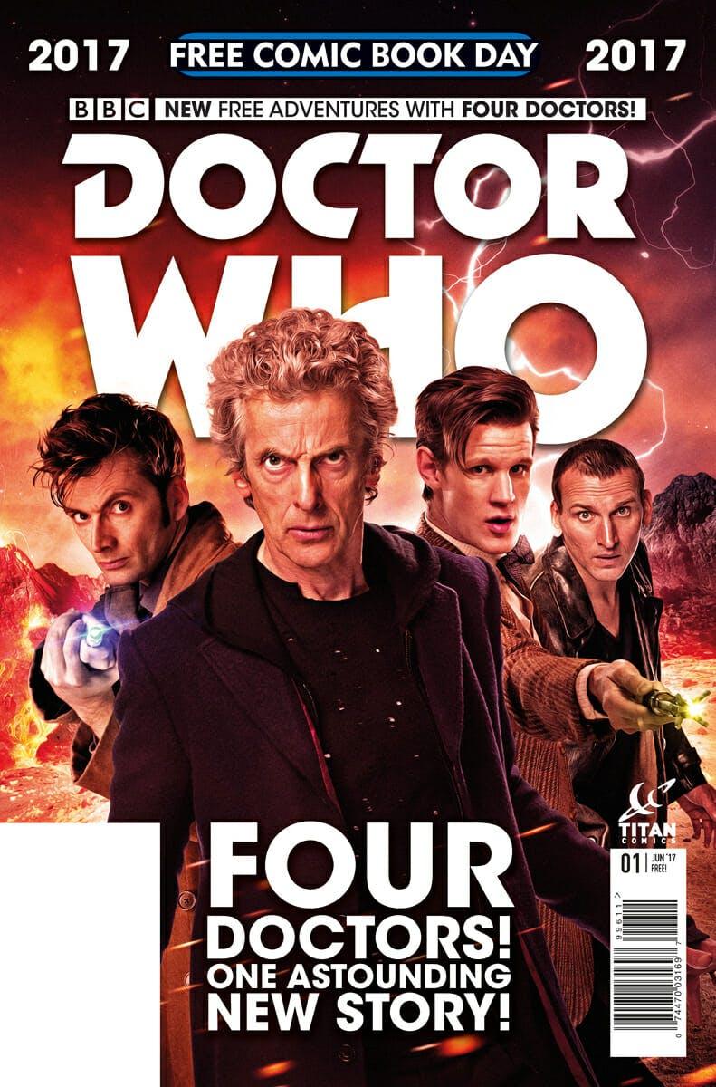free doctor who comic
