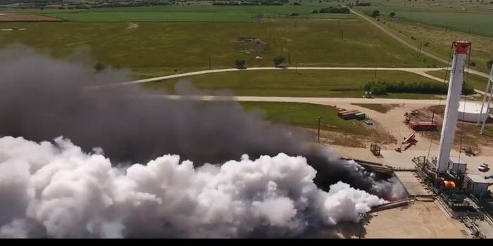 spacex falcon heavy rocket test