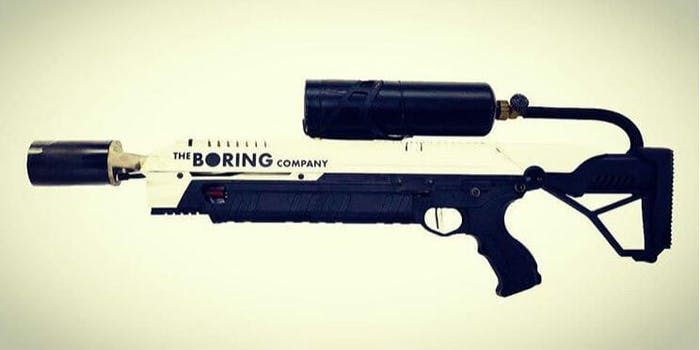 the boring company flamethrower elon musk