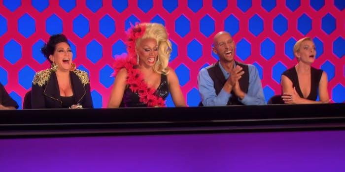 Judges on Ru Paul's Drag Race.