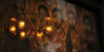 Mural of early Christians