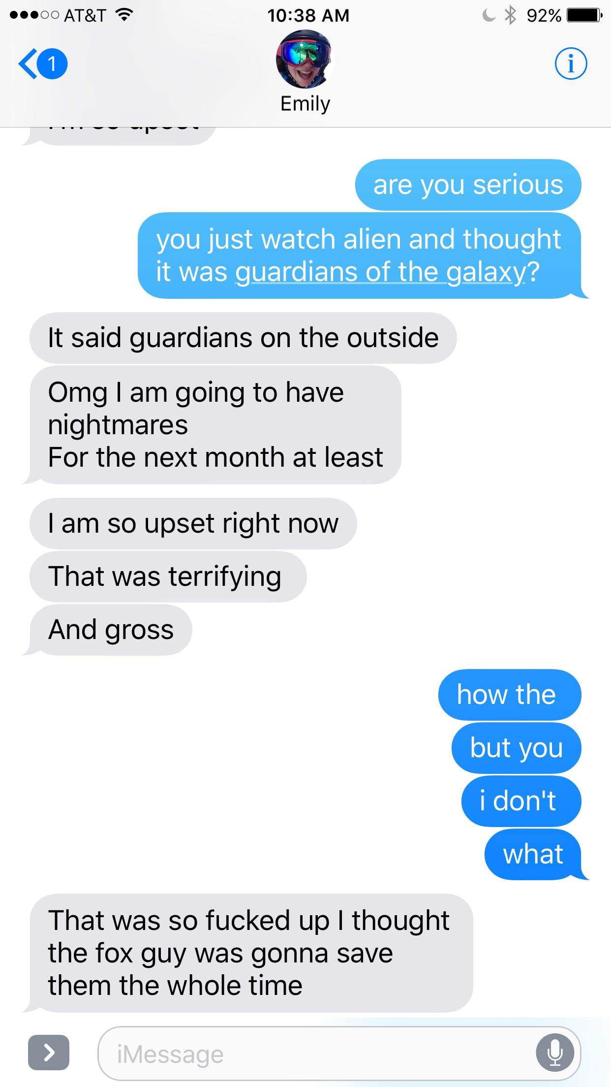 alien guardians texts