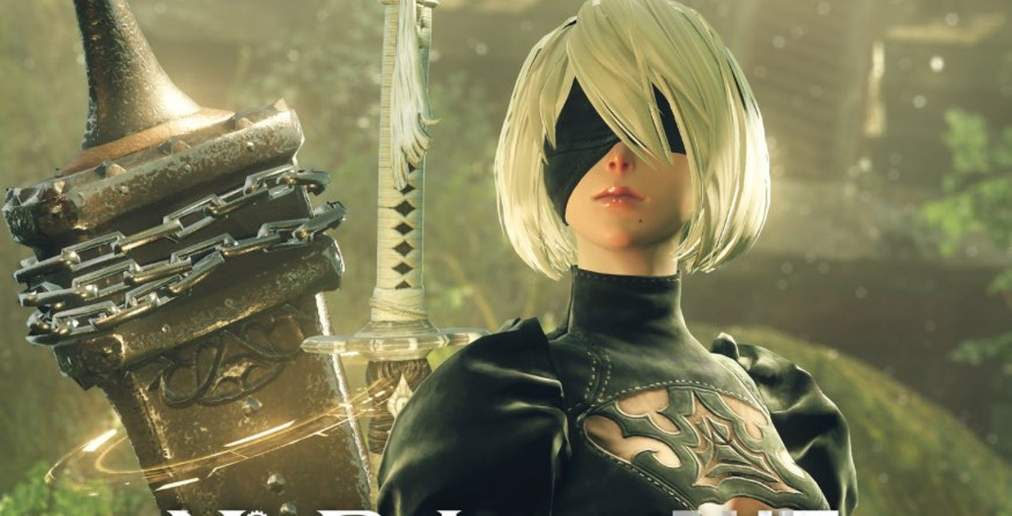 best video games of 2017 : nier automata 2b butthole