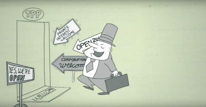 Flush The TPP: U.S. Trade Representative's Office 9-23