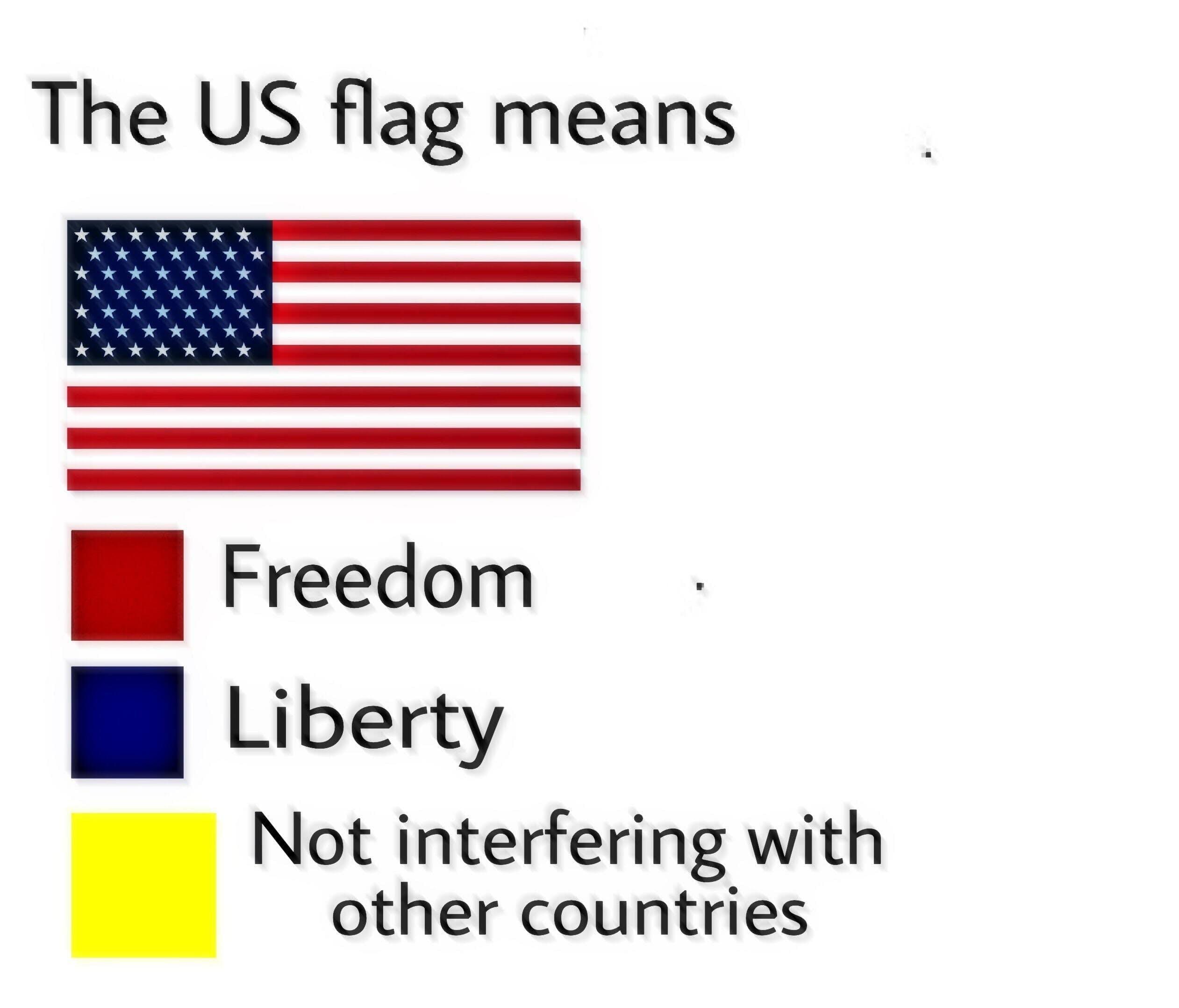 u.s. flag meme