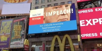 Impeach Trump Billboard
