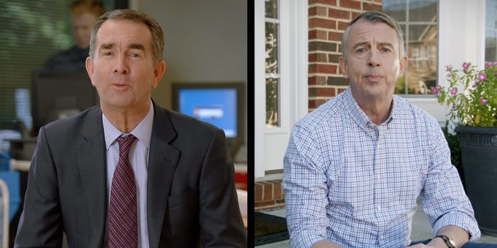 Virginia is one of two states electing a new governor today. Democrat Ralph Northam is facing off against Republican Ed Gillespie.