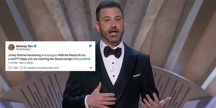 Jimmy Kimmel Oscars opening speech.