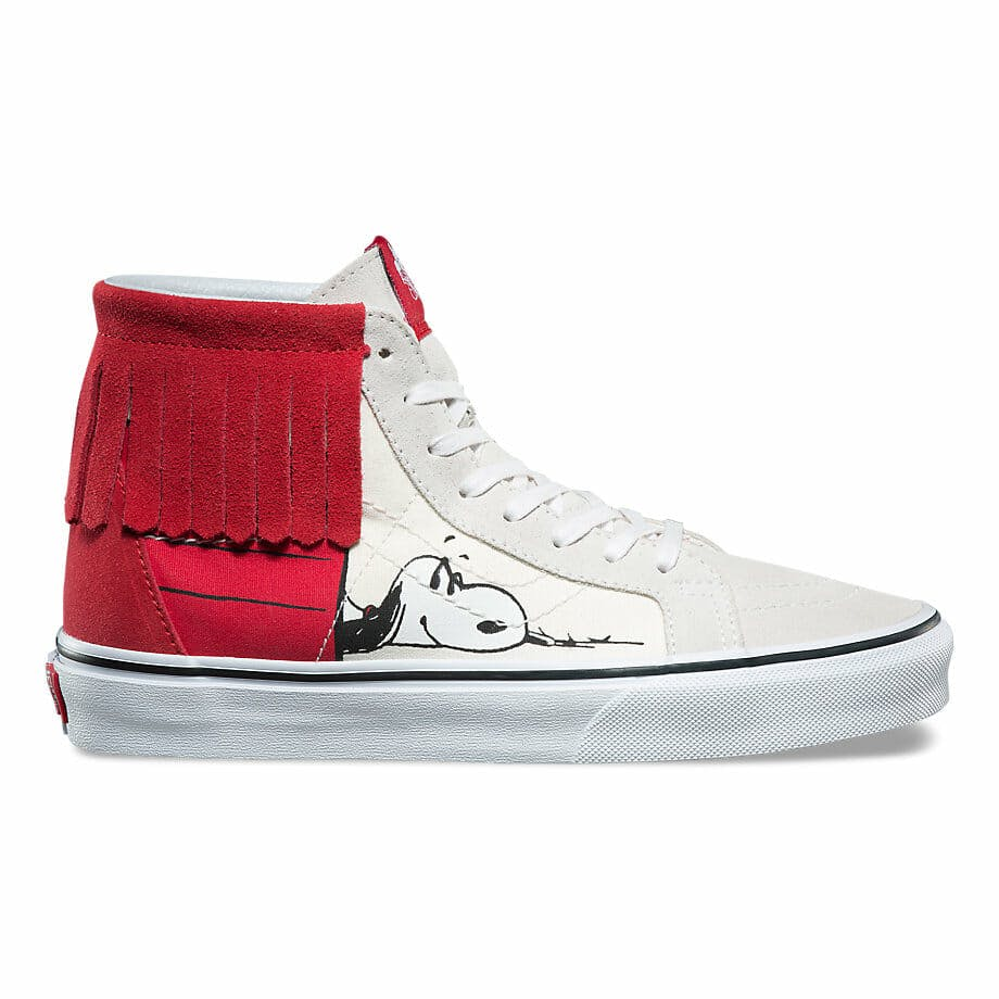 vans peanuts shoes snoopy moccasin
