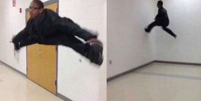 the floor is lava meme
