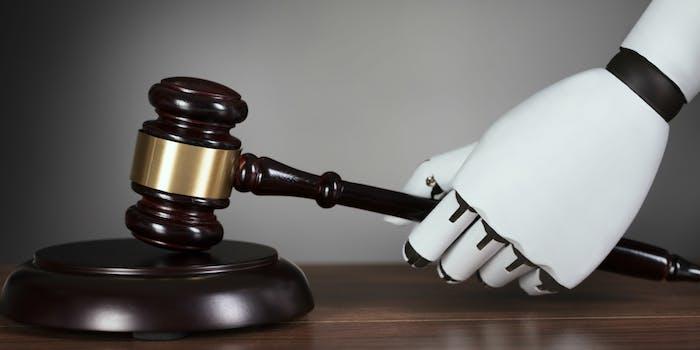 robot ai lawyer