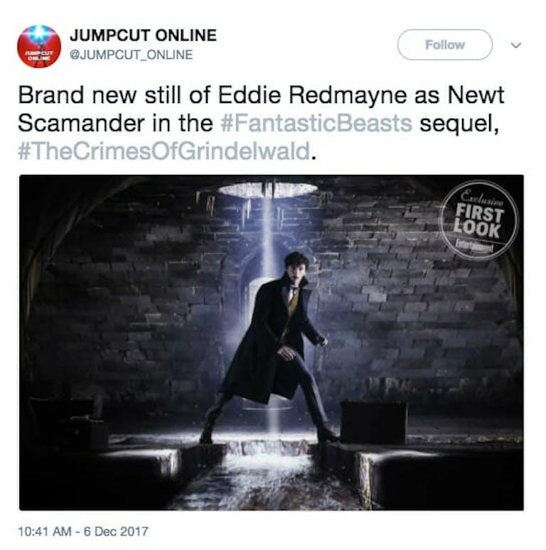 fantastic beasts 2 news