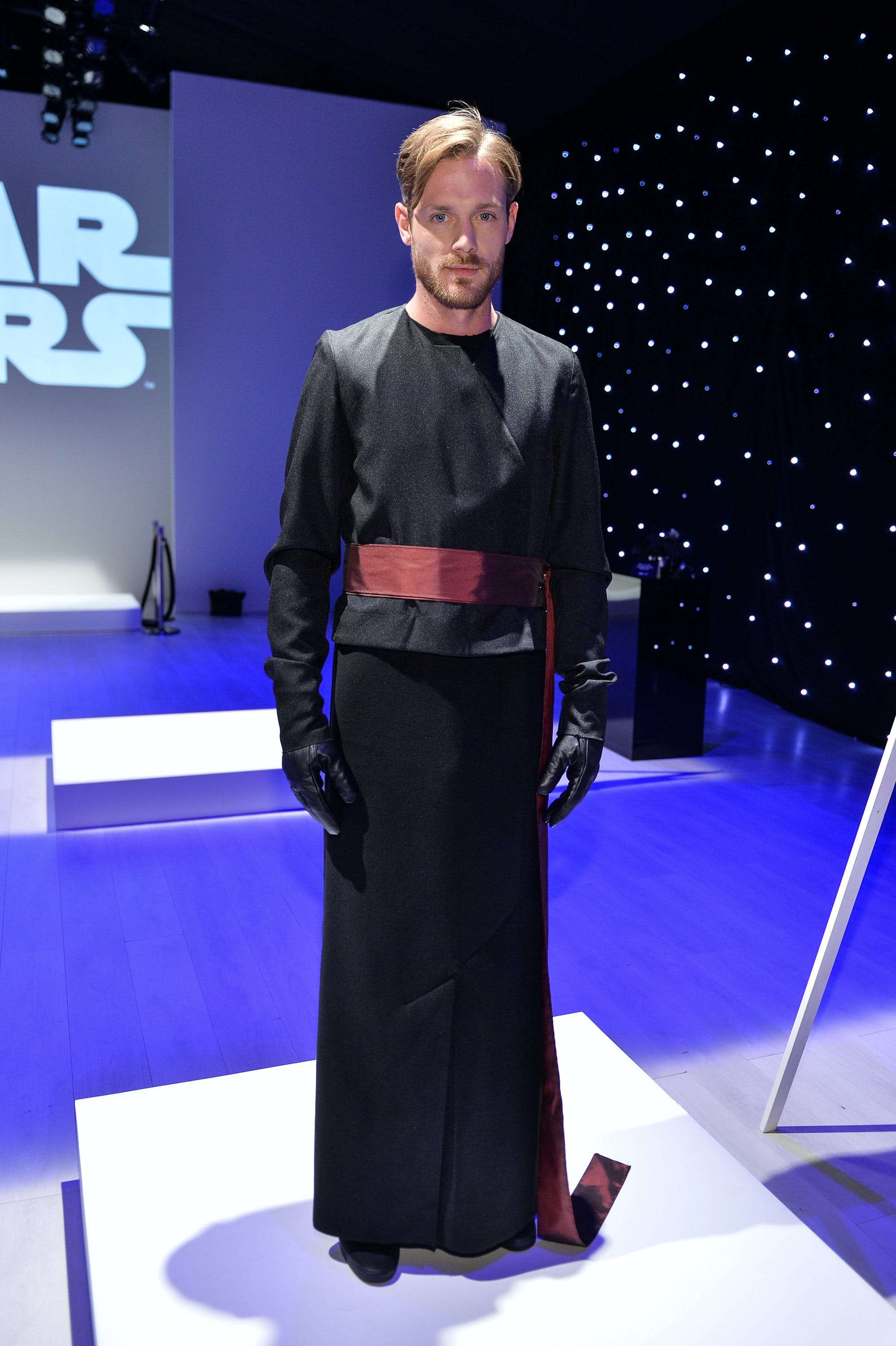 Outfit designed by S.P. Badu