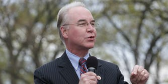 Health and Human Services secretary Tom Price