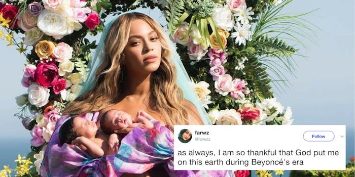 Beyoncé birth announcement