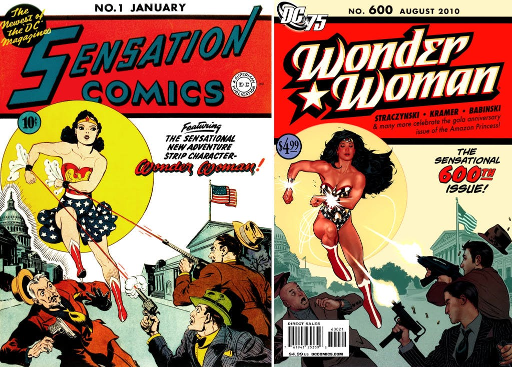 how did wonder woman become a super hero