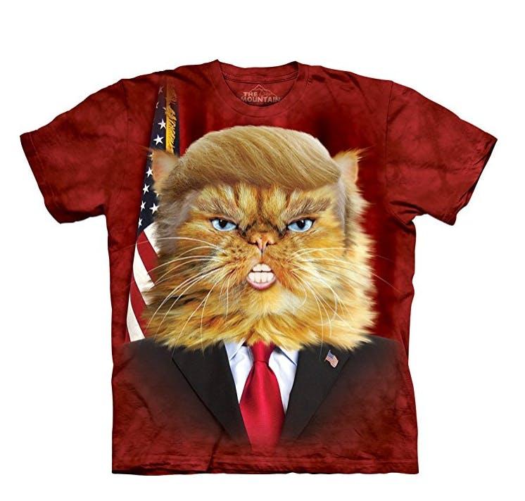 weird cat shirts