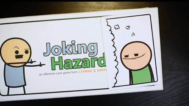 best board games for groups : joking hazard
