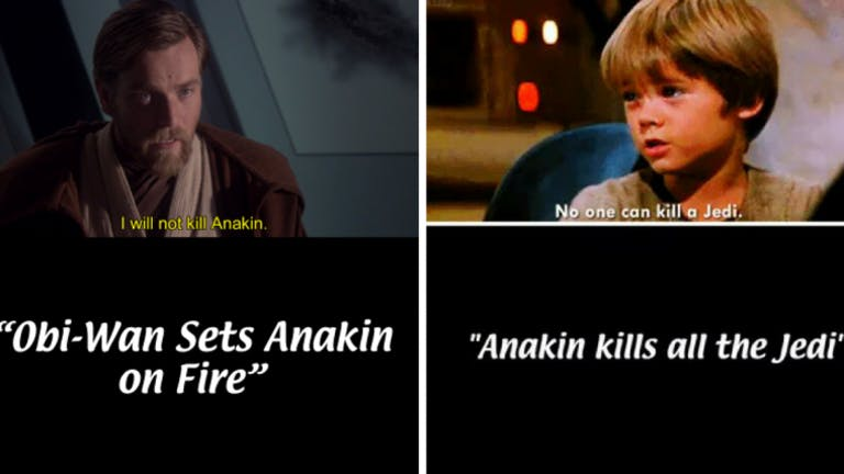 star wars always sunny title cards
