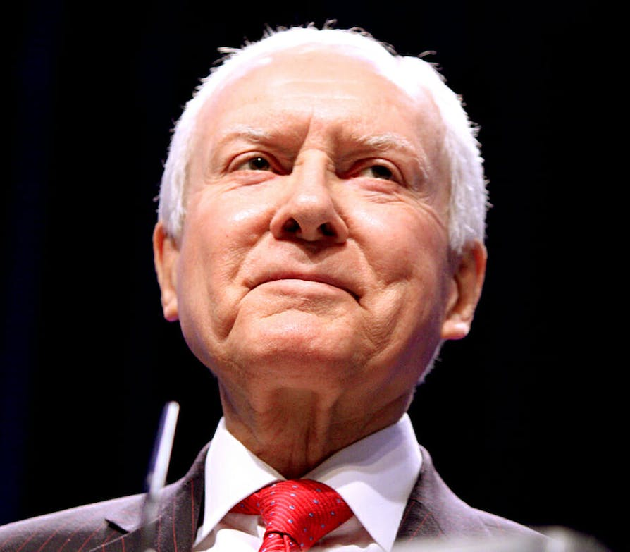 Trump-Russia conspiracy theories : Orrin Hatch is already president