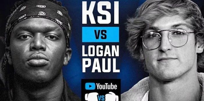 KSI Logan Paul betting odds