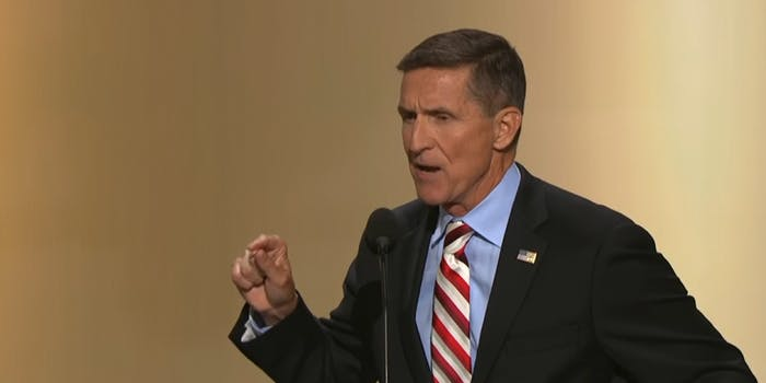 Former National Security Adviser Michael Flynn reportedly met with FBI investigators probing his communication with Russian officials without the knowledge of President Donald Trump or other members of his administration.