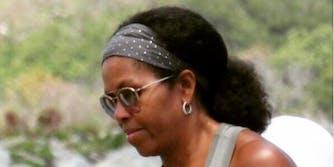 Michelle Obama natural hair